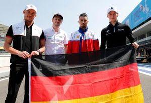 Andre Lotterer, Porsche, Porsche 99x Electric, Daniel Abt, Audi Sport ABT Schaeffler, Audi e-tron FE06, Pascal Wehrlein, Mahindra Racing, M6Electro, Maximilian Günther, BMW I Andretti Motorsports, BMW iFE.20