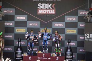Manuel Gonzalez, Yamaha ParkinGO Team, Jules Cluzel, GMT94 Yamaha, Can Oncu, Kawasaki Puccetti Racing