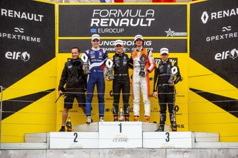 Podium: Alexander Smolyar, R-ACE GP, Victor Martins, MP Motorsport, Lorenzo Colombo, MP Motorsport, Caio Collet, R-ACE GP