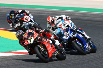 Chaz Davies, Aruba.it Racing-Ducati Team, Marco Melandri, GRT Yamaha WorldSBK, Tom Sykes, BMW Motorrad WorldSBK Team