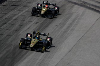 Marcus Ericsson, Arrow Schmidt Peterson Motorsports Honda, James Hinchcliffe, Arrow Schmidt Peterson Motorsports Honda