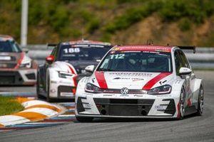Stefan Tanner, Ralf Henggeler, Marlon Menden, Yannick Mettler, Jerome Ogay, Volkswagen Golf GTI TCR Autorama Motorsport