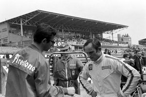 Chris Amon, Ferrari and Mauro Forghieri, Ferrari