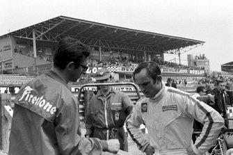 Chris Amon, Ferrari, mit Mauro Forghieri