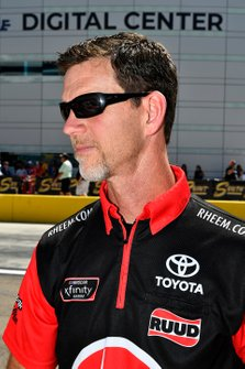 Christopher Bell, Joe Gibbs Racing, Toyota Supra Rheem/Smurfit Kappa, crew chief Jason Ratcliff