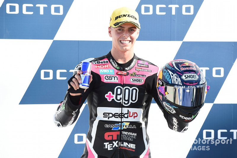 Pole position pour Fabio Di Giannantonio, Speed Up Racing