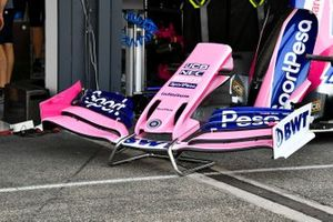 Front wing of Racing Point RP19