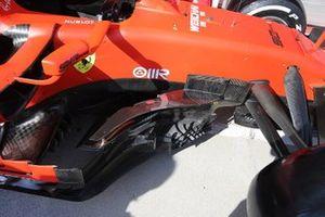 Detalle de los bargeboard del Ferrari SF90