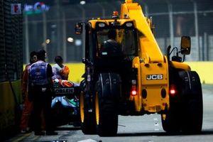 Wagen van George Russell, Williams Racing FW42