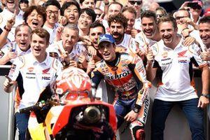 Race winnaar Marc Marquez, Repsol Honda Team