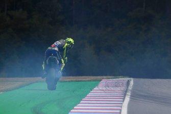 Valentino Rossi, Yamaha Factory Racing, blown engine