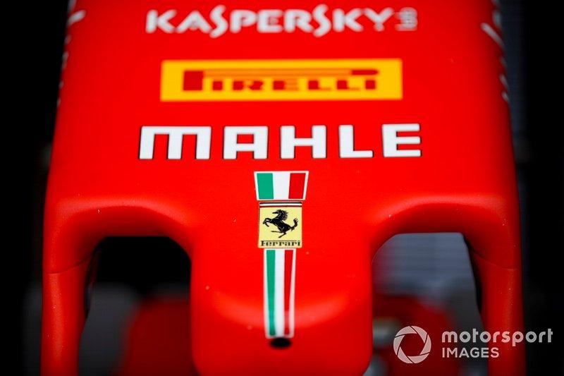 Il musetto della Ferrari SF90