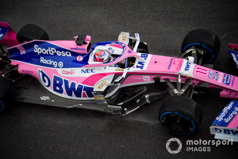 15 - Sergio Perez, Racing Point RP19 - 1'21.291