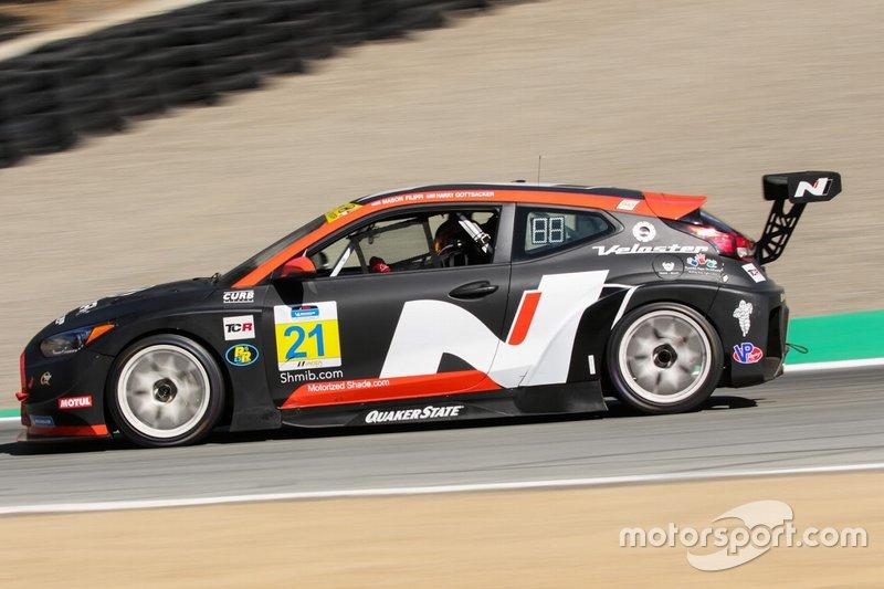 #21 Bryan Herta Autosport W Curb-Agajanian Hyundai Veloster N TCR, TCR: Mason Filippi, Harry Gottsacker