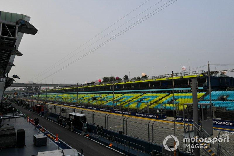 Circuit preparations are undertaken