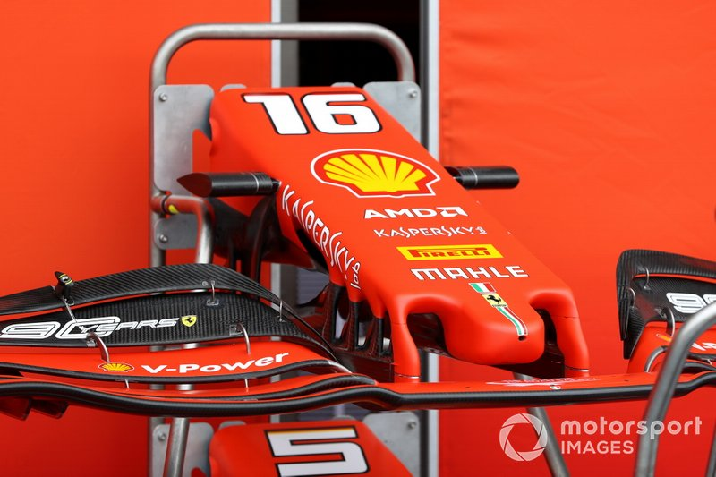 Ferrari SF90 nose and front wings