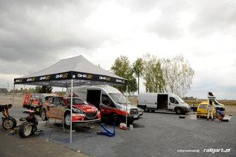 Testy przed VI rundą Oponeo MPRC 2019