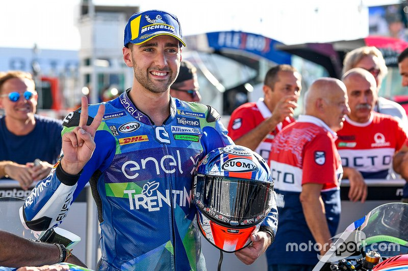 Race winner Matteo Ferrari, Gresini Racing
