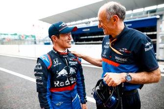 Naoki Yamamoto, Toro Rosso, con Franz Tost, Director Toro Rosso