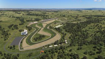 Artist impression of the second Bathurst circuit