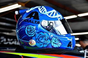 Alex Bowman, Hendrick Motorsports, Chevrolet Camaro Axalta helmet