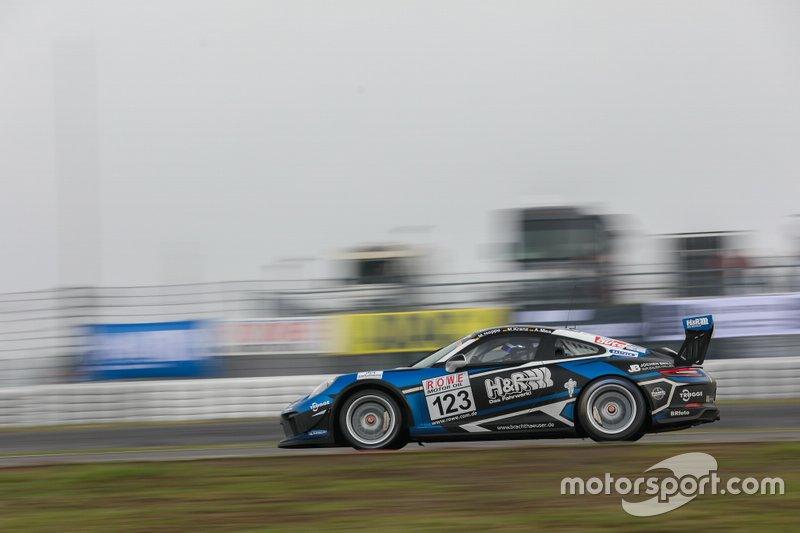 #123 Porsche 911 GT3 Cup: Marcel Hoppe, Moritz Kranz, Alexander Mies