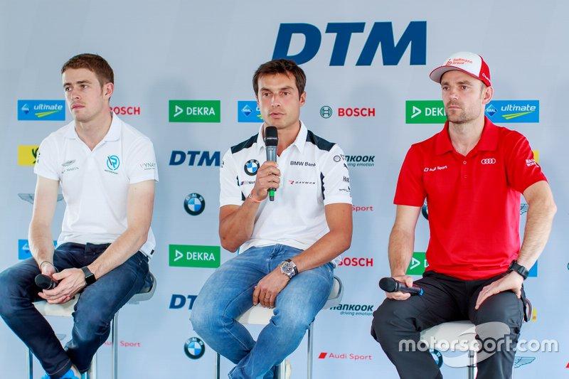 Persconferentie, Paul Di Resta, R-Motorsport, Bruno Spengler, BMW Team RMG, Jamie Green, Audi Sport Team Rosberg