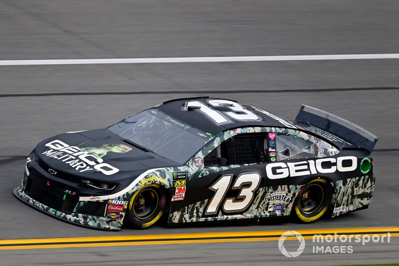 Ty Dillon, Germain Racing, Chevrolet Camaro GEICO Military