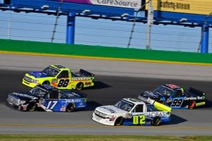Tyler Ankrum, DGR-Crosley, Toyota Tundra Academy Sports + Outdoors / RAILBLAZA, Tyler Dippel, Young's Motorsports, Chevrolet Silverado Jersey Filmmaker and Matt Crafton, ThorSport Racing, Ford F-150 Great Lakes Wood Floors/ Menards