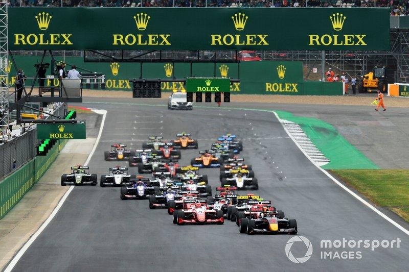 Partenza di gara 1 a Silverstone