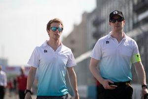 Oliver Turvey, NIO Formula E Team on the track walk