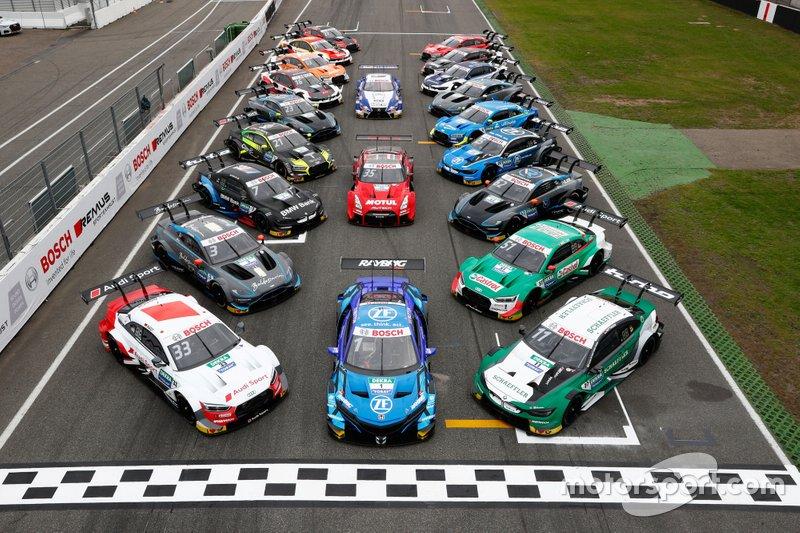 Foto de grupo SUPER GT se reúne con DTM