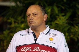Frederic Vasseur, teambaas Alfa Romeo Racing