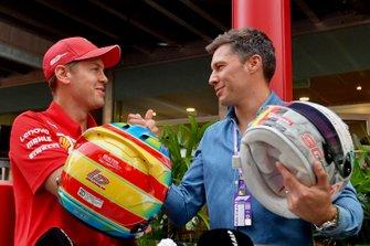 Sebastian Vettel, Ferrari en Loic Duval