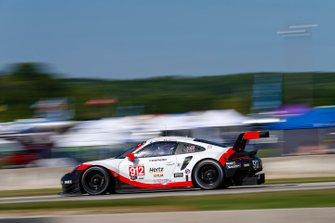 #912 Porsche GT Team Porsche 911 RSR, GTLM: Earl Bamber, Laurens Vanthoor