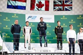 Nicholas Latifi, Dams Nyck De Vries, ART Grand Prix en Jack Aitken, Campos Racing