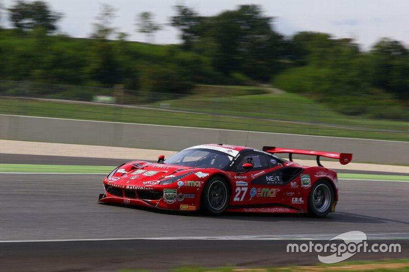 #27 Ferrari 488 Evo 27 GT3 PRO, Scuderia Baldini 27: Gai-Fuoco