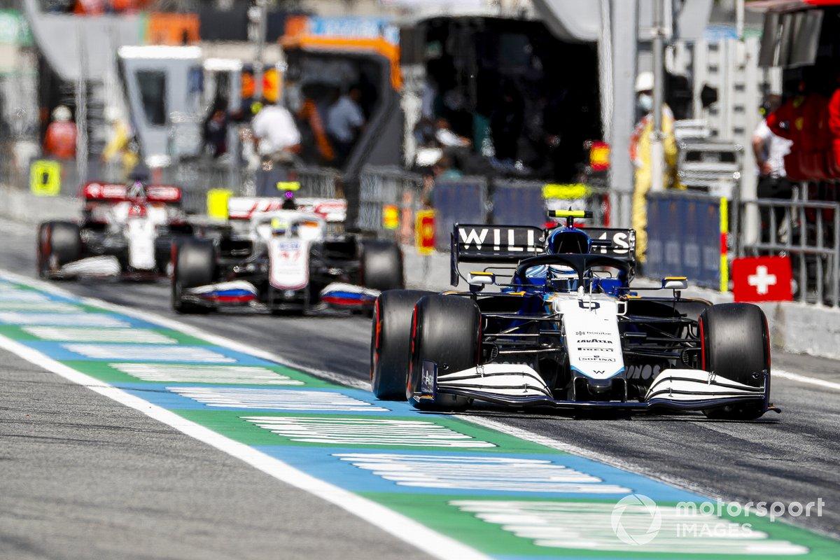 Nicholas Latifi, Williams FW43B, Mick Schumacher, Haas VF-21