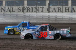 Todd Gilliland, Front Row Motorsports, Ford F-150 Frontline Enterprises INC., Devon Rouse, Reaume Brothers Racing, Chevrolet Silverado Camping World