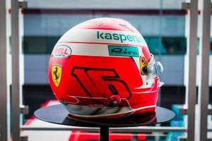 Helmet of Charles Leclerc, Ferrari
