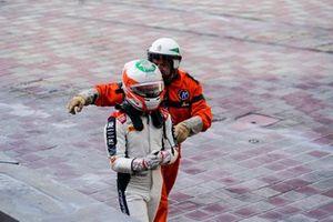 Gianluca Petecof, Campos Racing, s'éloigne de sa voiture