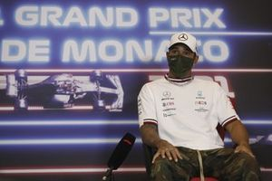 Lewis Hamilton, Mercedes, in the Press Conference