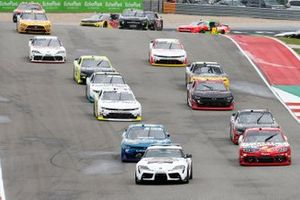 Toyota GR Supra Pace Car Kyle Busch, Joe Gibbs Racing, Toyota Supra Skittles Gummies