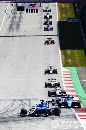 Calan Williams, Jenzer Motorsport, Tijmen Van Der Helm, MP Motorsport, Roman Stanek, Hitech Grand Prix