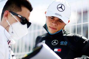 Albert Lau, Race Engineer, Mercedes Benz EQ, Nyck de Vries, Mercedes Benz EQ