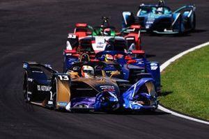 Antonio Felix da Costa, DS Techeetah, DS E-Tense FE21, Robin Frijns, Envision Virgin Racing, Audi e-tron FE07, Rene Rast, Audi Sport ABT Schaeffler, Audi e-tron FE07