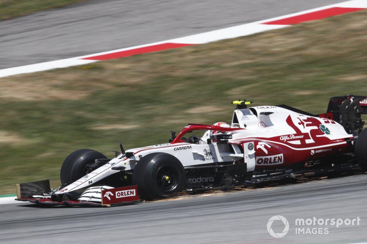 Antonio Giovinazzi, Alfa Romeo Racing: 4 puan