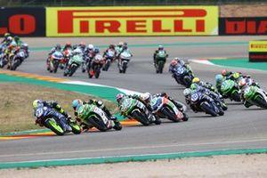 Ton Kawakami, Adrian Huertas, MTM Kawasaki, Tom Booth-Amos, Fusport - Rt Motorsports by SKM Kawasaki