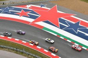 NASCAR-Action im Regen auf dem Circuit of The Americas in Austin