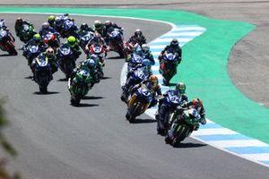Partenza, Philipp Ottl, Kawasaki Puccetti Racing leads